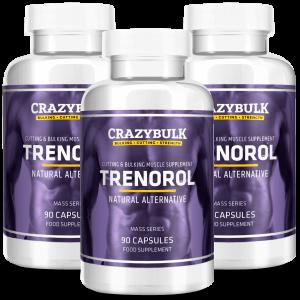 3 botellas de Trenorol
